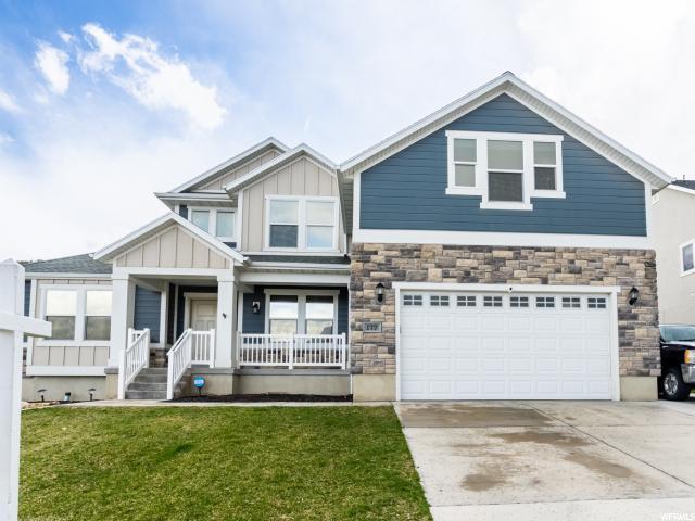 177 W Parkside Dr, Saratoga Springs, UT 84045 (#1593059) :: Bustos Real Estate | Keller Williams Utah Realtors