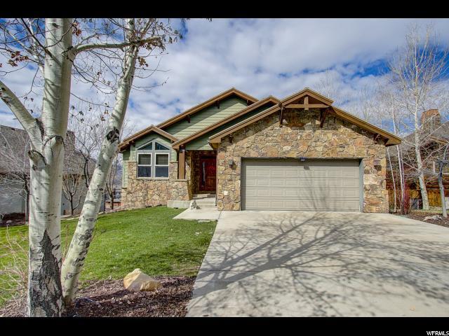 12315 Deer Mountain Blvd, Heber City, UT 84032 (MLS #1596533) :: High Country Properties