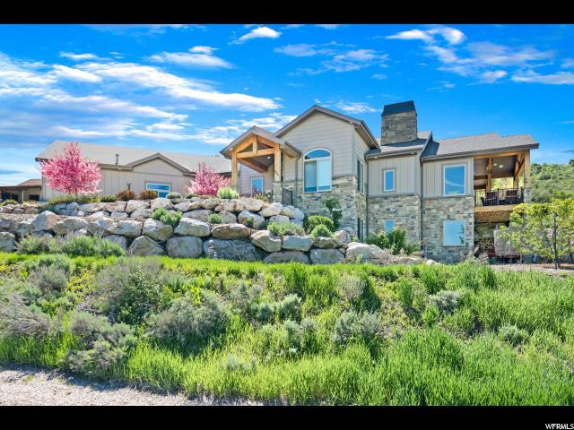 6585 E Via Cortina N, Huntsville, UT 84317 (#1599480) :: Action Team Realty