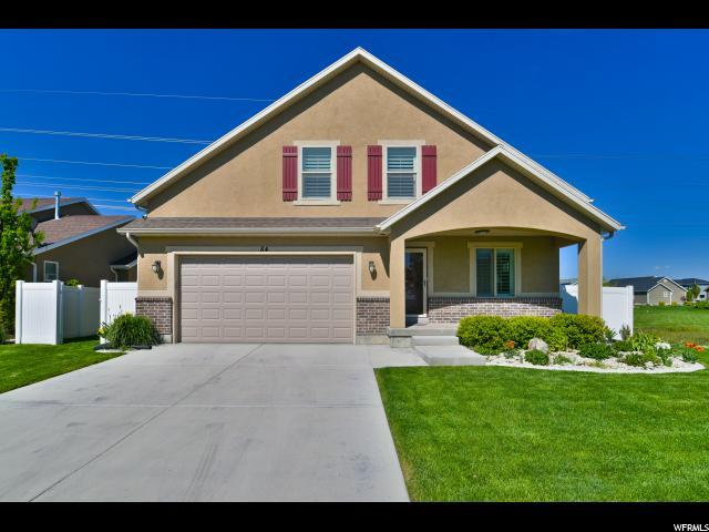 84 W Lake View Terrace Rd, Saratoga Springs, UT 84045 (#1600315) :: Action Team Realty
