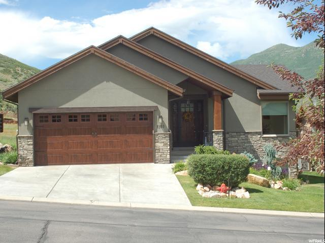 1160 Sunburst Ln, Midway, UT 84049 (#1601143) :: Red Sign Team