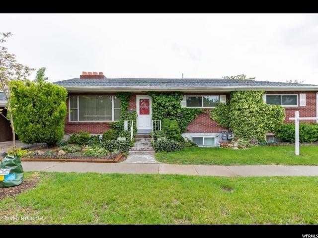 1870 E Hillcrest Ave S, Salt Lake City, UT 84106 (#1603212) :: Big Key Real Estate