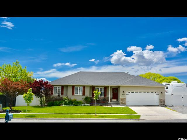 859 W Red Hen Rd., Saratoga Springs, UT 84045 (#1604574) :: goBE Realty