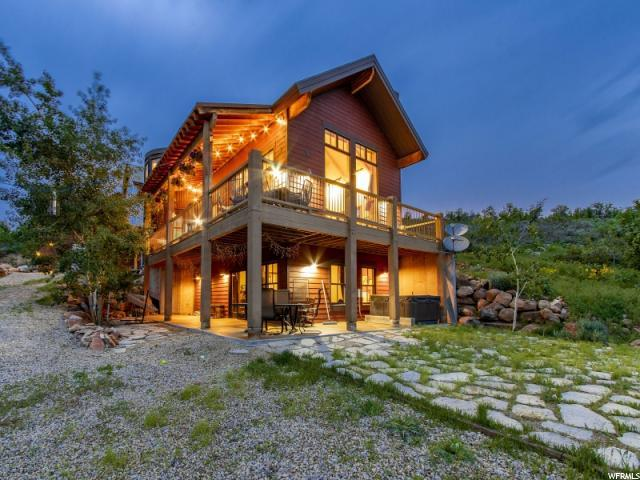 2463 E Bullmoose Dr N, Coalville, UT 84017 (MLS #1604766) :: High Country Properties