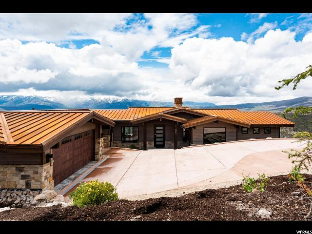 9051 N Hidden Hill Loop, Park City, UT 84098 (#1604857) :: Action Team Realty
