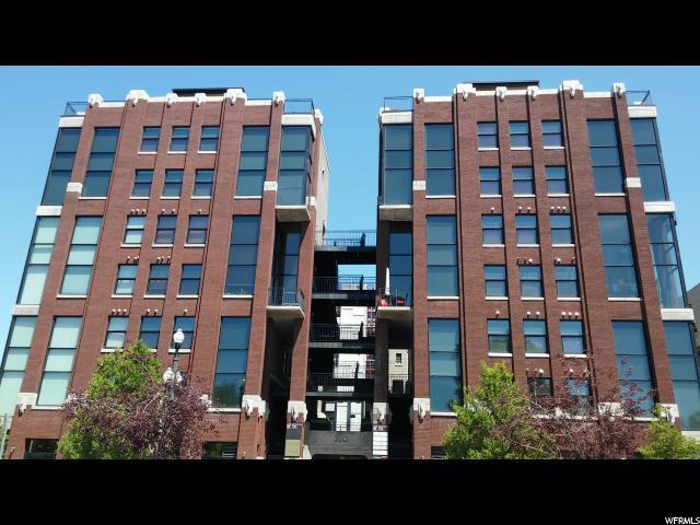 360 W Broadway #414, Salt Lake City, UT 84101 (#1605158) :: Colemere Realty Associates