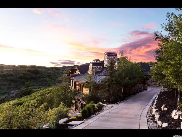 8435 N Ranch Garden Rd, Park City, UT 84098 (#1609174) :: Big Key Real Estate
