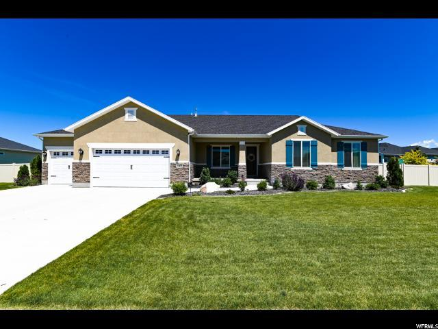 842 W Roan Way S, Kaysville, UT 84037 (#1611087) :: Colemere Realty Associates