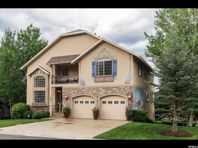 1190 N Warm Springs Rd, Midway, UT 84049 (#1611232) :: Red Sign Team