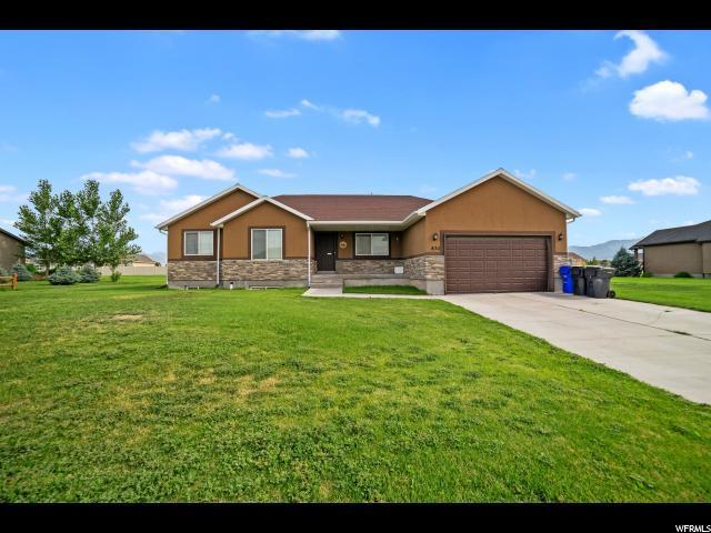832 E Deep Wash Rd S, Grantsville, UT 84029 (#1611557) :: Bustos Real Estate | Keller Williams Utah Realtors