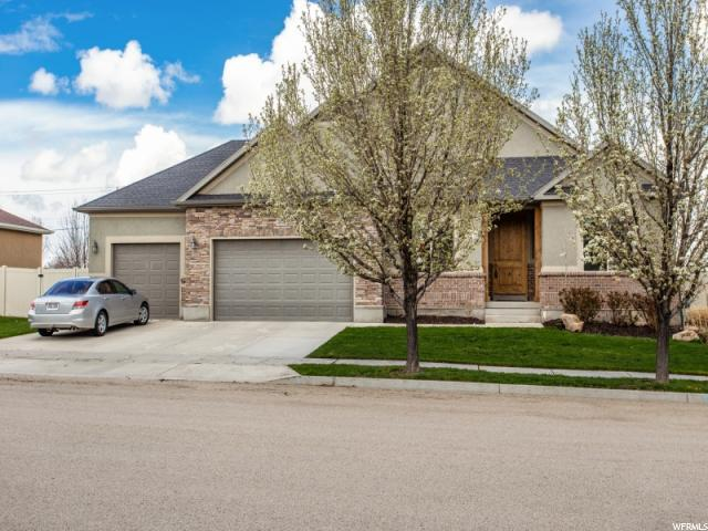 3378 W Chatel Dr, Riverton, UT 84065 (#1615002) :: Big Key Real Estate