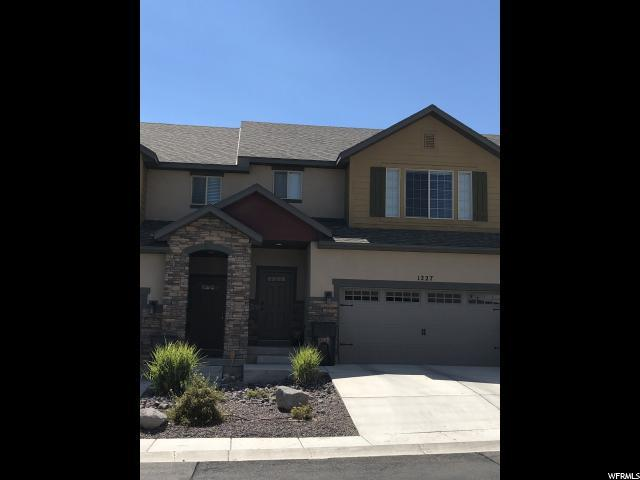 1227 N Silver Crest Dr E, Saratoga Springs, UT 84045 (#1616654) :: goBE Realty