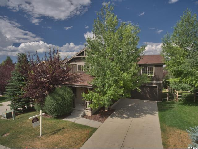 1237 Foxcrest Dr, Park City, UT 84098 (MLS #1617663) :: High Country Properties
