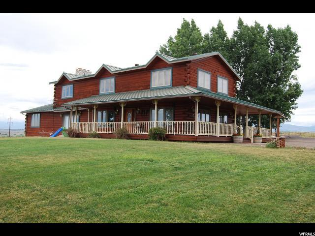 9497 E 7000 N, Lapoint, UT 84039 (#1618970) :: Big Key Real Estate