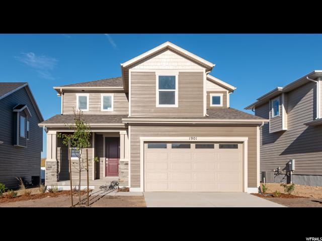 1901 N Lemongrass Dr Dr W, Saratoga Springs, UT 84045 (#1619405) :: Doxey Real Estate Group