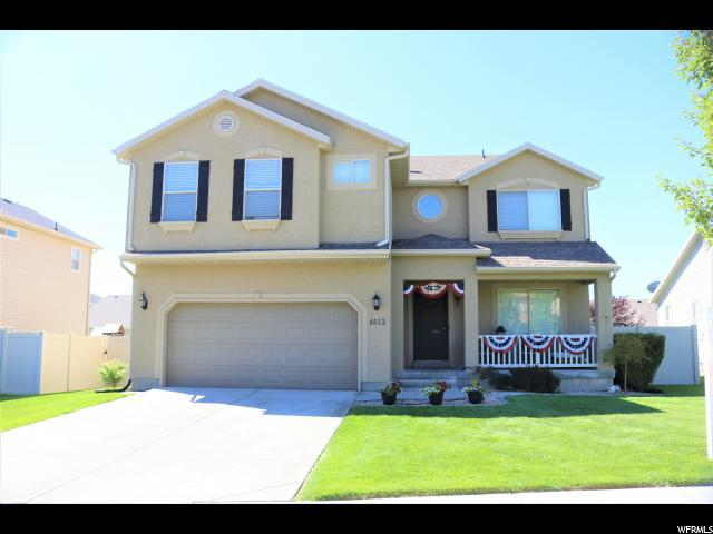 4612 E Evans Dr S, Eagle Mountain, UT 84005 (#1623033) :: Exit Realty Success