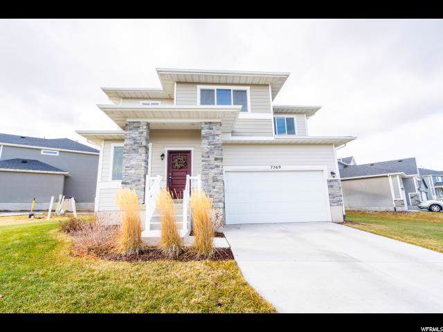 7569 N Evans Ranch Dr, Eagle Mountain, UT 84005 (#1632627) :: The Fields Team