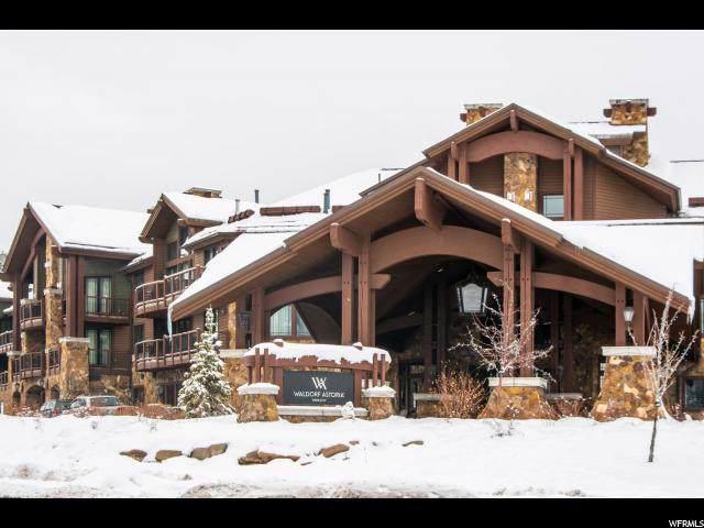 2100 Frostwood Blvd (#5140-44) Blvd #5142, Park City, UT 84098 (#1634432) :: Utah Best Real Estate Team | Century 21 Everest