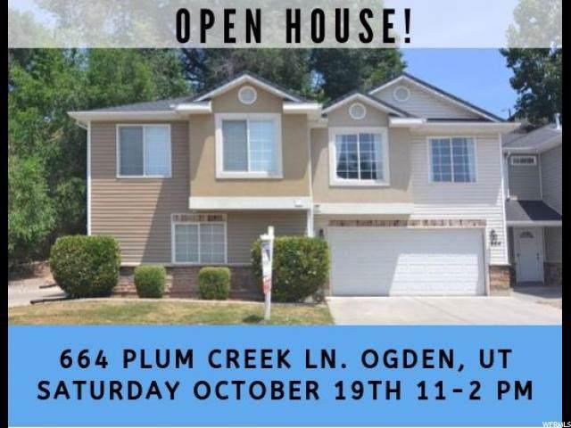 664 Plum Creek Ln, Ogden, UT 84404 (#1636233) :: Red Sign Team