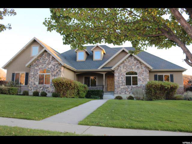 504 E Ridge Dr S, Alpine, UT 84004 (#1636385) :: Red Sign Team