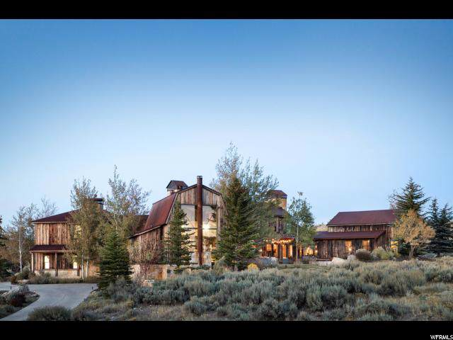 8172 N Ranch Garden Rd, Park City, UT 84098 (#1637406) :: Big Key Real Estate