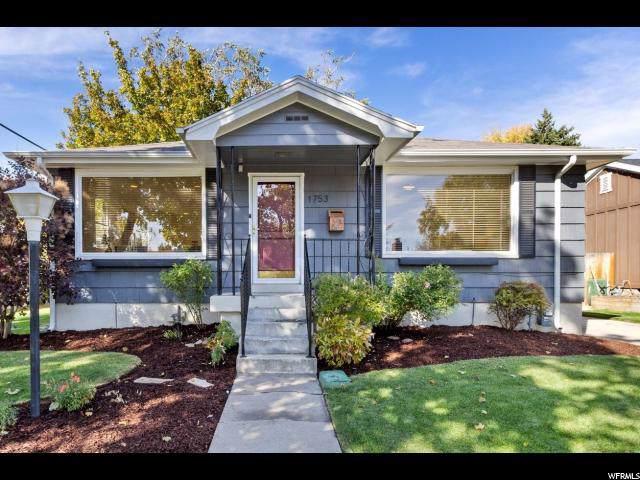 1753 E Bryan Ave S, Salt Lake City, UT 84108 (#1637581) :: Exit Realty Success