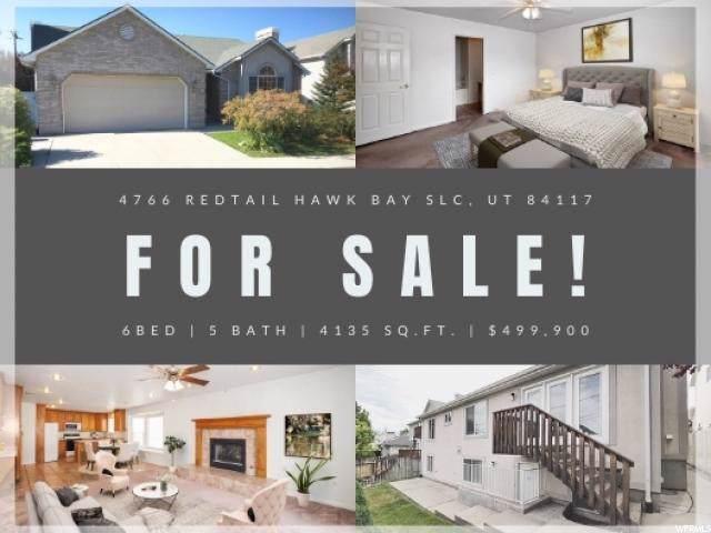 4766 S Redtail Hawk Bay, Salt Lake City, UT 84117 (#1638003) :: Bustos Real Estate | Keller Williams Utah Realtors