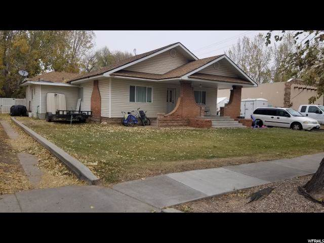 145 E 100 N, Vernal, UT 84078 (#1638622) :: Red Sign Team
