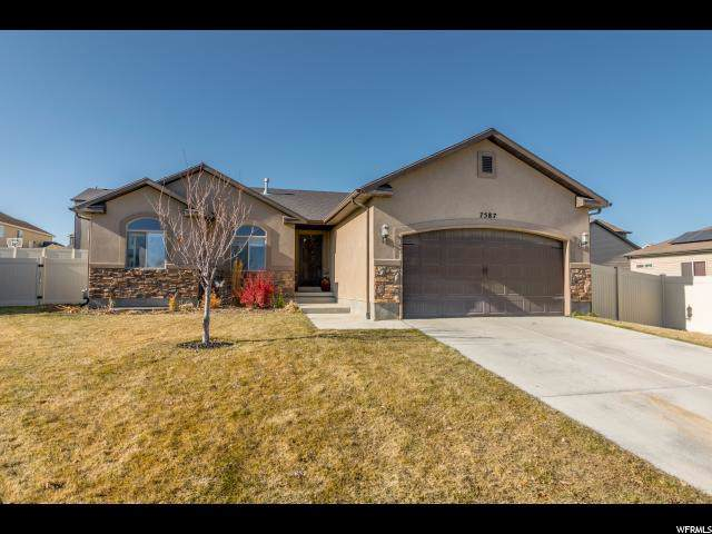 7587 N Jimmy Ln, Eagle Mountain, UT 84005 (#1640924) :: Red Sign Team