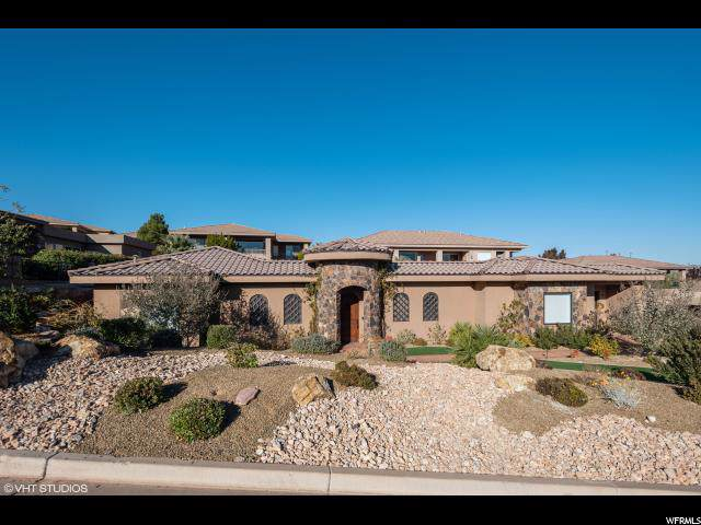 1747 View Point Drive, St. George, UT 84790 (#1641398) :: Doxey Real Estate Group