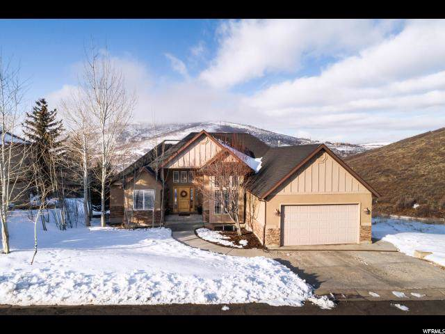 12617 N Deer Mountain Blvd, Kamas, UT 84036 (#1645755) :: Bustos Real Estate | Keller Williams Utah Realtors