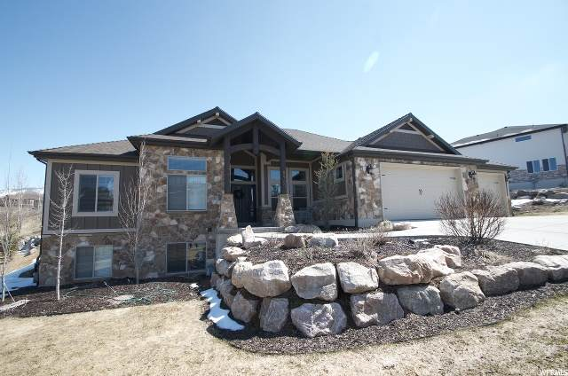 5960 N Hidden Hills Dr, Mountain Green, UT 84050 (#1650656) :: REALTY ONE GROUP ARETE