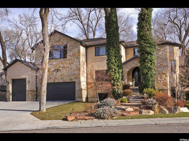 7311 S Milne Garden Cir E, Cottonwood Heights, UT 84047 (#1651782) :: Red Sign Team
