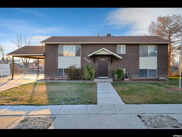 865 S 1350 W, Clearfield, UT 84015 (#1656057) :: Big Key Real Estate