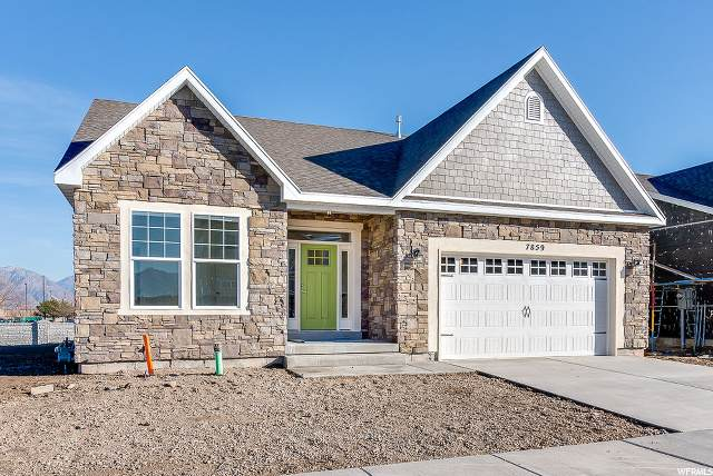 5422 W Ridge Peak Dr S #13, West Jordan, UT 84081 (#1659684) :: Gurr Real Estate