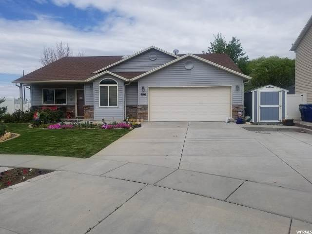 496 W Stone Ct, Ogden, UT 84404 (MLS #1671467) :: Lookout Real Estate Group