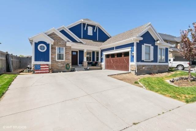 8521 N Turnberry Rd, Eagle Mountain, UT 84005 (MLS #1672164) :: Lookout Real Estate Group