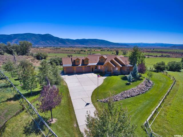 6176 N Rocky Ridge Rd, Peoa, UT 84061 (#1699289) :: Doxey Real Estate Group