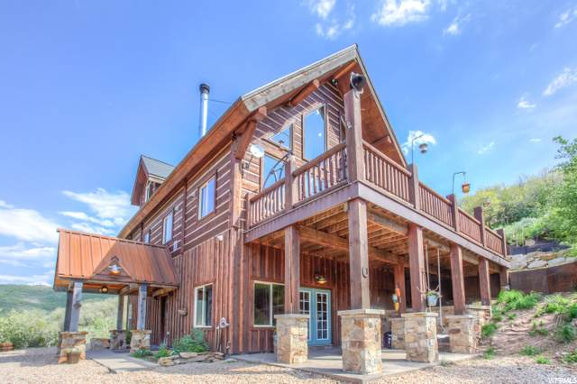177 W Tollgate Canyon Rd, Wanship, UT 84017 (#1700400) :: The Perry Group