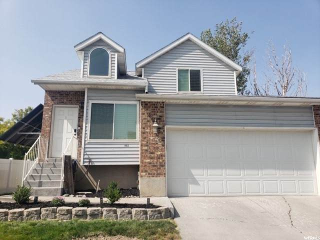9162 S Little Creek Dr W, West Jordan, UT 84088 (#1701141) :: Powder Mountain Realty