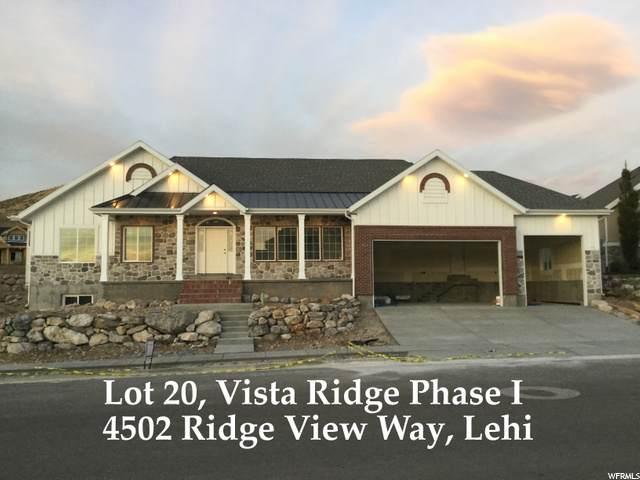 4502 N Ridge View Way #20, Lehi, UT 84043 (#1703087) :: Bustos Real Estate | Keller Williams Utah Realtors