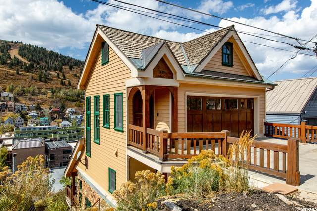 329 Ontario Ave, Park City, UT 84060 (#1703686) :: Berkshire Hathaway HomeServices Elite Real Estate