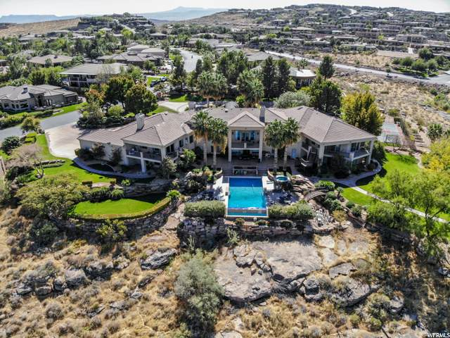 1540 S Stone Cliff Dr, St. George, UT 84790 (#1708259) :: Berkshire Hathaway HomeServices Elite Real Estate