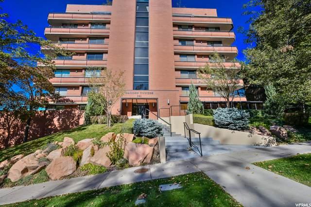 141 E 2ND Ave N #806, Salt Lake City, UT 84103 (#1709900) :: Powder Mountain Realty