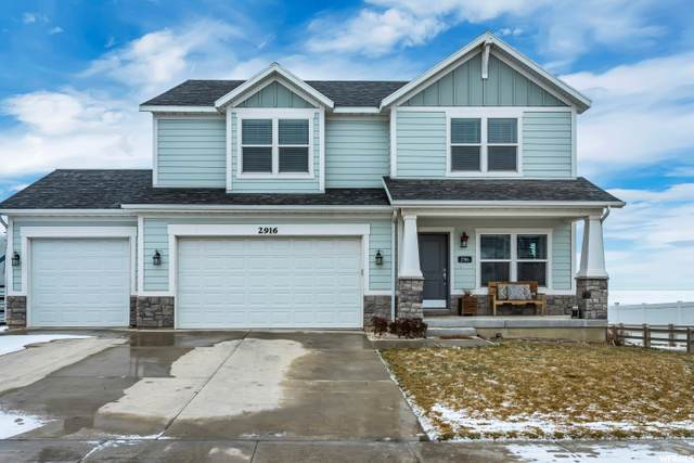 2916 S Yellow Bill Dr, Saratoga Springs, UT 84045 (#1716348) :: Doxey Real Estate Group