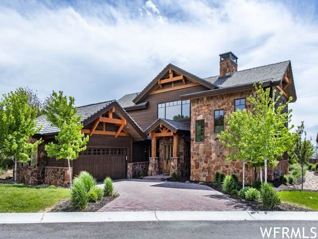 82 N Club Cabins Ct, Heber City, UT 84032 (#1747232) :: Doxey Real Estate Group