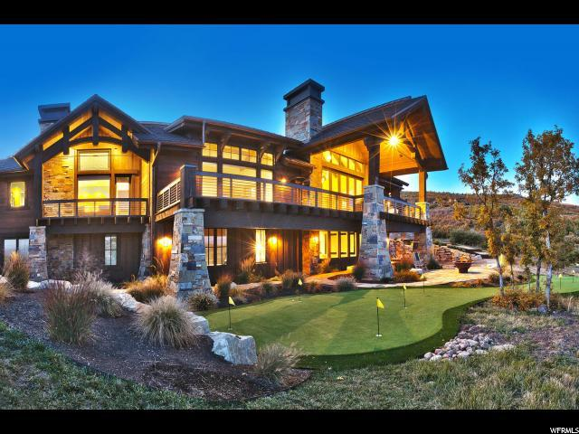 717 W Moose Hill Rd, Park City, UT 84098 (#1485059) :: The Fields Team