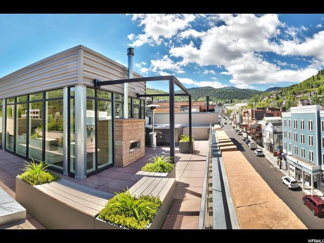632 Main St 4PENT, Park City, UT 84060 (#1523554) :: Big Key Real Estate
