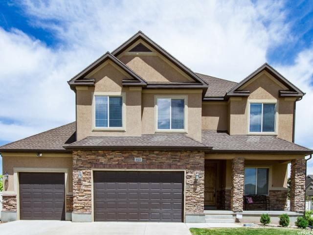 3322 W Zermatt Dr S, Riverton, UT 84065 (#1524811) :: The Fields Team