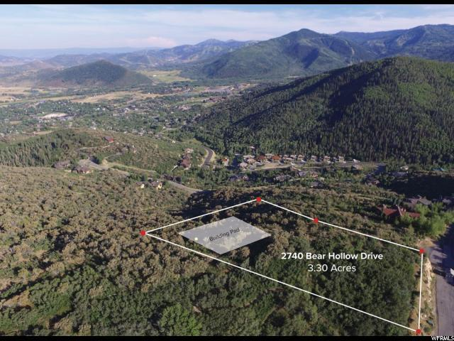 2740 Bear Hollow Dr, Park City, UT 84098 (MLS #1538532) :: High Country Properties